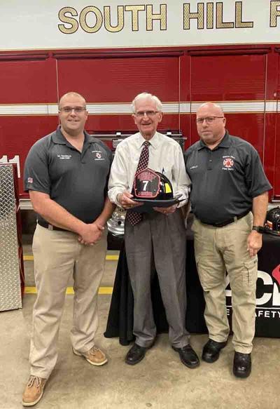 Crowder named honorary fire member