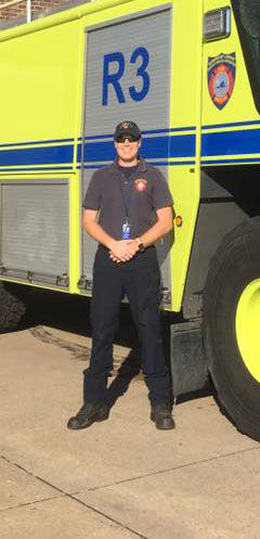 RIC is Me – Aircraft Rescue and Fire Fighting Lt. Jared Barmoy