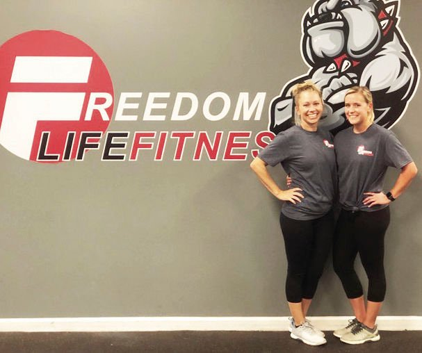 Amber Autry and Amanda Schumaker strive to help their clients find fitness and nutritional balance in their lives.