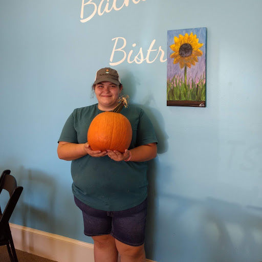 The reunion of a lady and her pumpkin