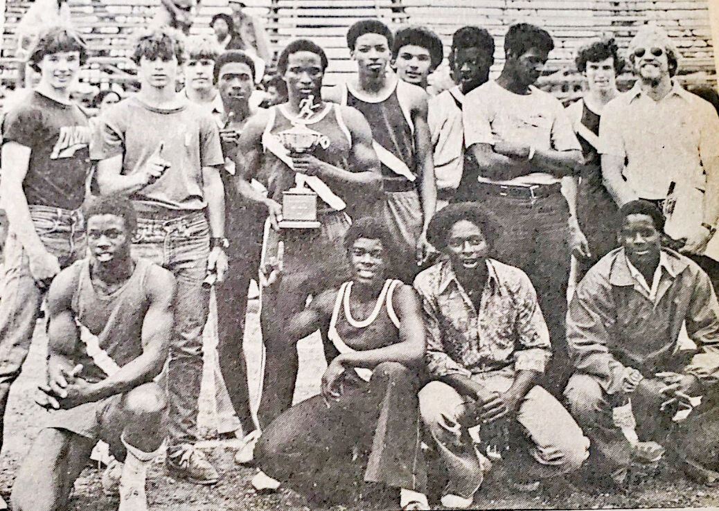Park View Boys Won Track Titles in '77 & '78