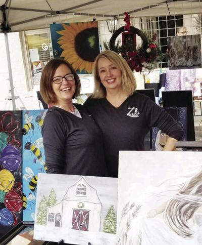 Sisters Janay Messick and Stephanie Creedal make their Zacklee's debut at Boydton Day
