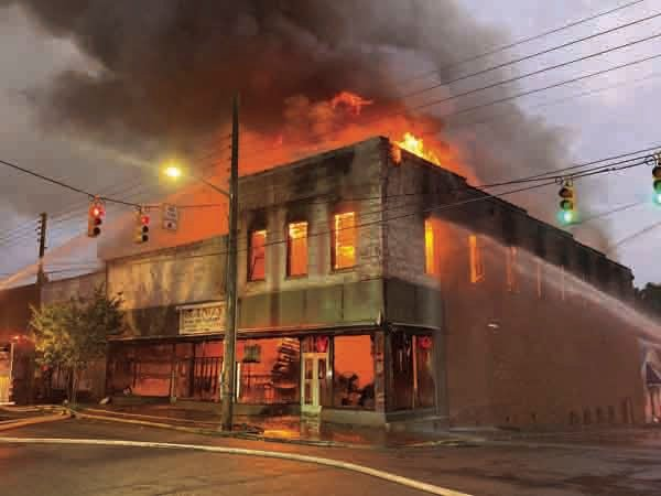 SHVFD assisting in Warrenton restaurant fire