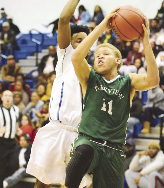Park View's Josh Boyd scored 31 points to lead the Dragons to a 78-66 win over Brunswick HS in Lawrenceville last Wednesday night. (Dennis Smith)