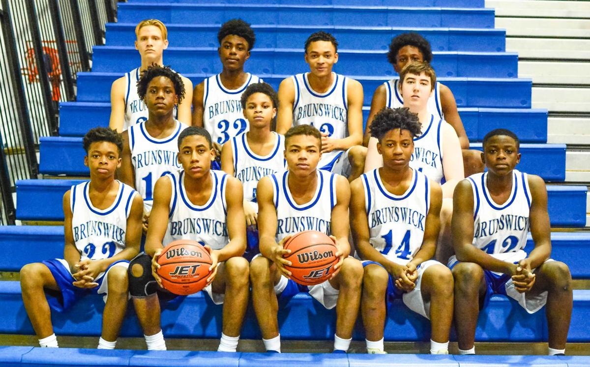 Brunswick County High School Boy's JV Basketball Team