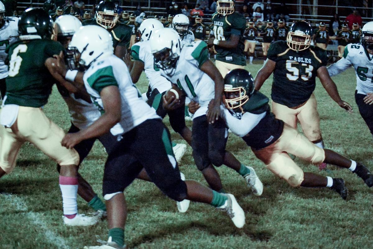 Eagles Pull Away for 28-7 Win