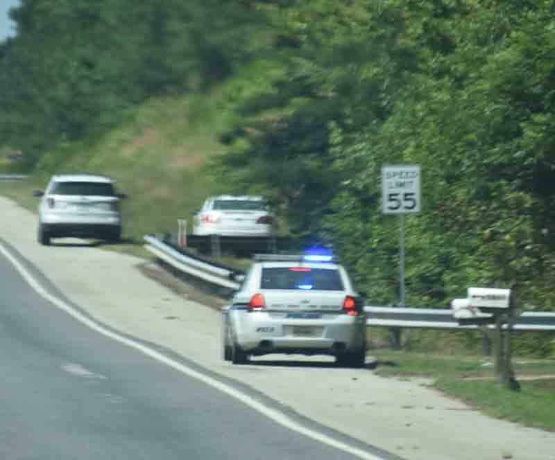 High speed driver leads local police on morning chase