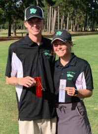 Jackson and Kelsey Moseley qualify for state golfing tournament