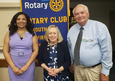 Rotary welcomes District Governor