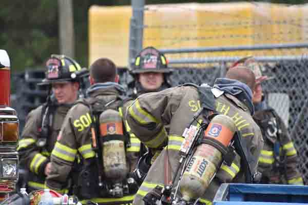 Fire at Lawrence Distribution Company under control