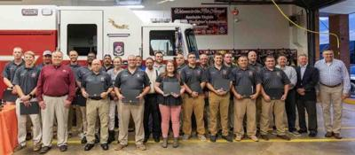 Local first responders honored for single call response