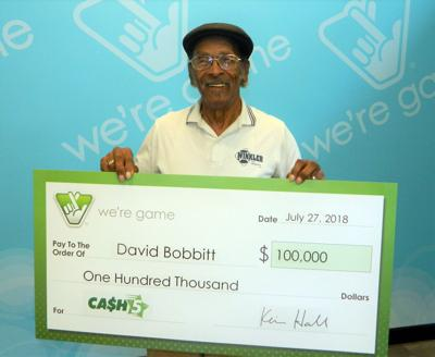 South Hill man matches all five numbers in Cash 5 to win