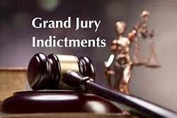 Grand Jury Indictments; Murder, possession, and larceny among charges