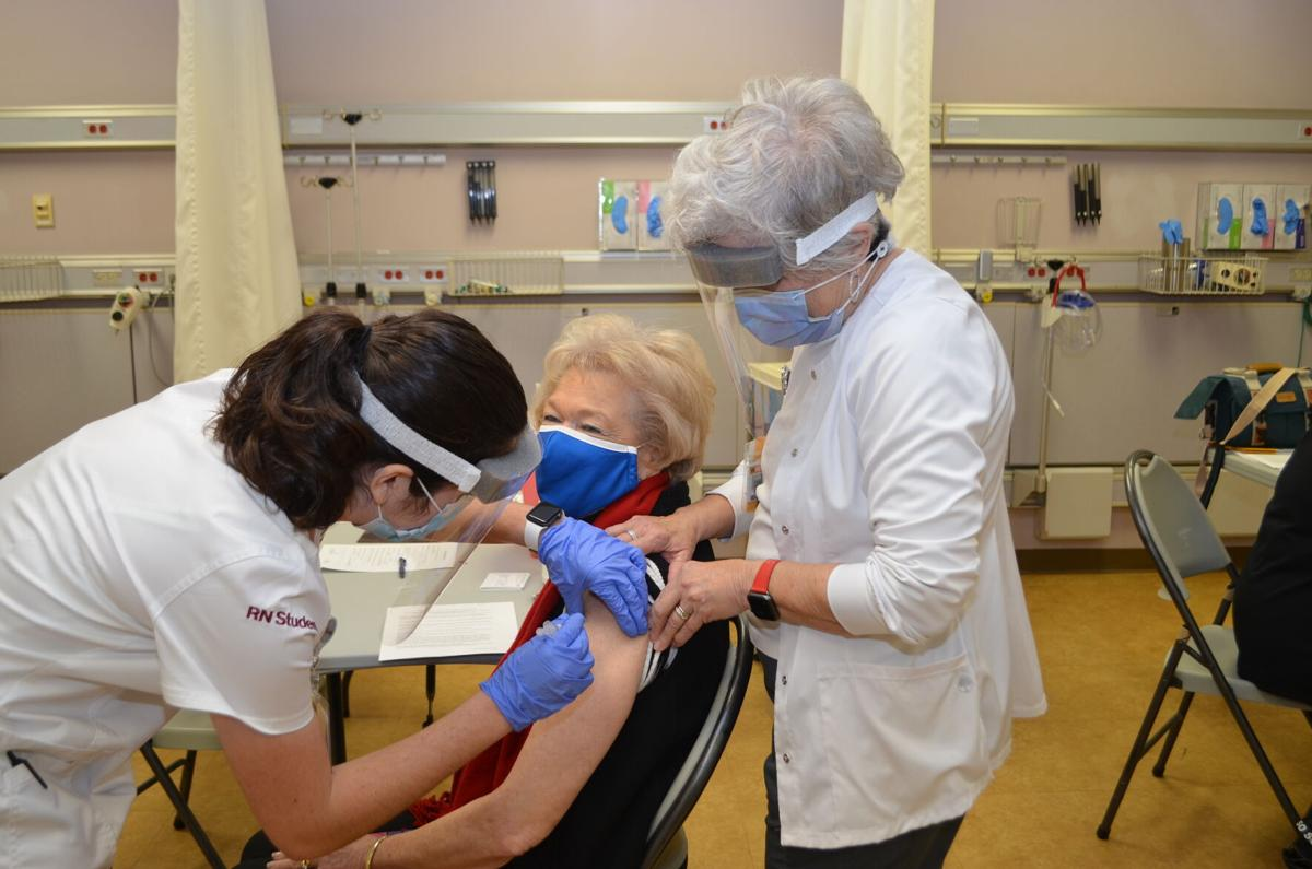 VCU Health Community Memorial Hospital Patient COVID-19 Vaccine Clinic Success
