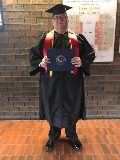 Harris receives Masters Degree