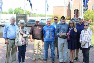 Forbes added to Mecklenburg Veterans Memorial
