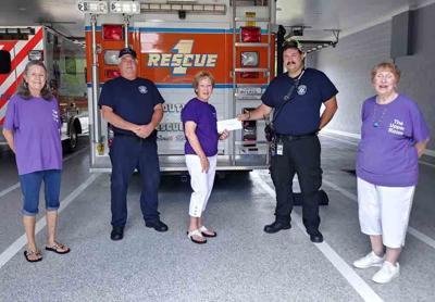 Upper Room Ministries donates to local Rescue Squad