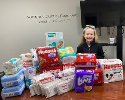 Jazz student collects diapers for the Selah Center