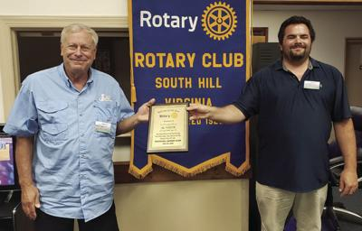Veeck named Rotarian of the Year