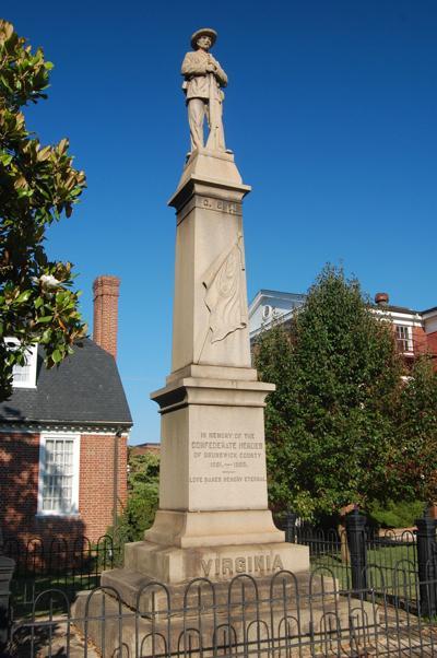Brunswick County Confederate Statue