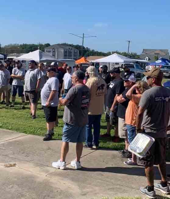 Steak cookoff brings grillers from all over to town
