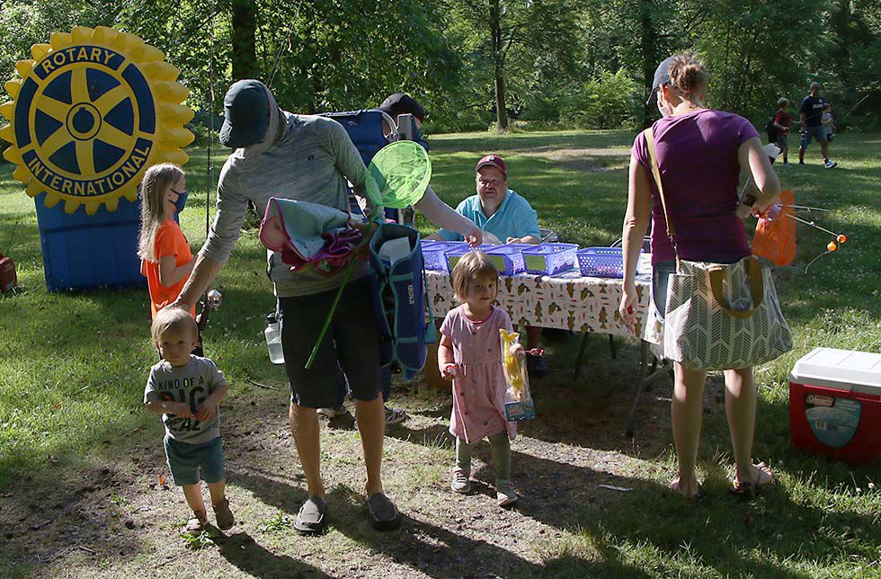 PHOTOS: Kids Fishing Derby takes place at Medford's Tomlinson Park