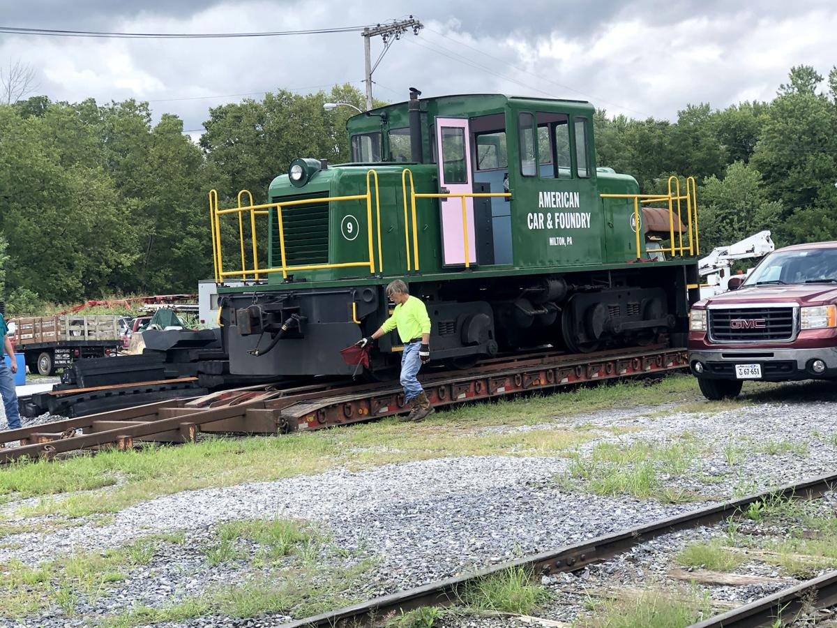 Former ACF locomotive now leading excursions in Maryland