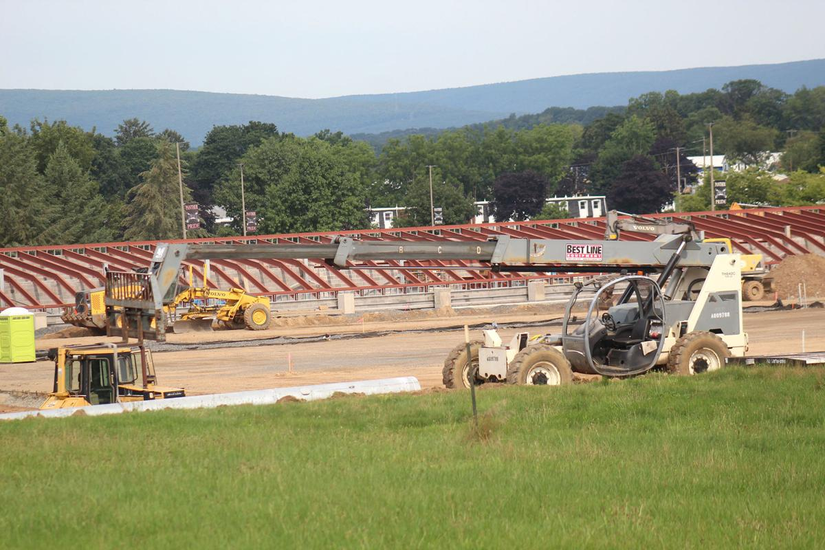 Construction projects continue