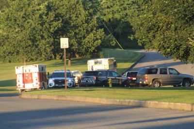 Fire, police agencies conduct land search