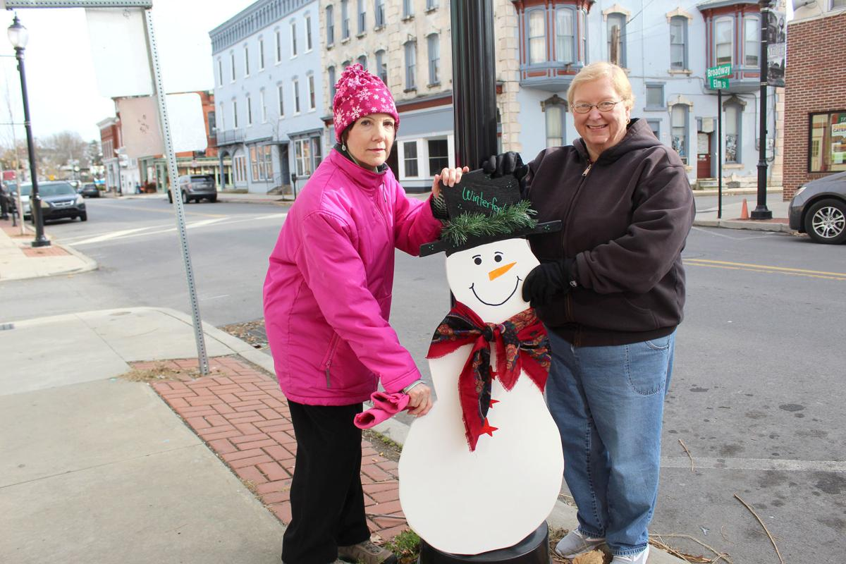New snowmen to grace Milton