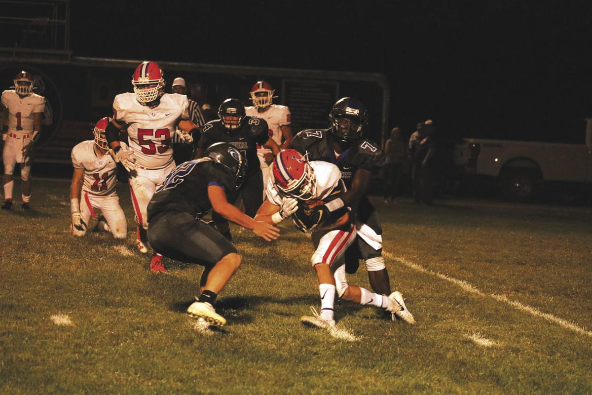Warrior Run falls to Danville, 35-20 | Sports | standard