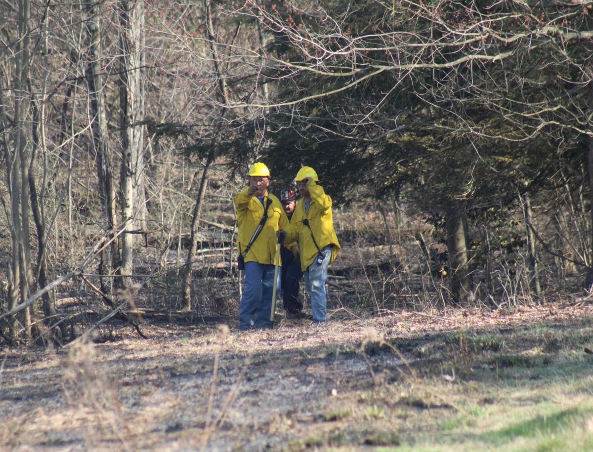 Multiple responders called to brush fire