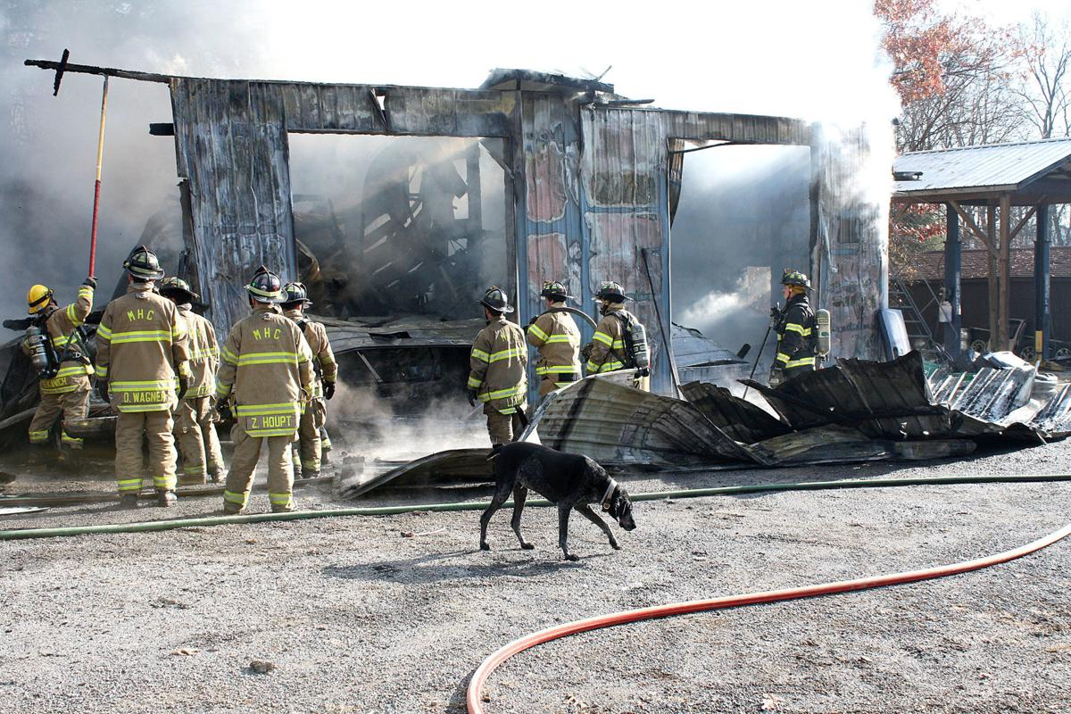 Buffalo Township fire attracts numerous local companies