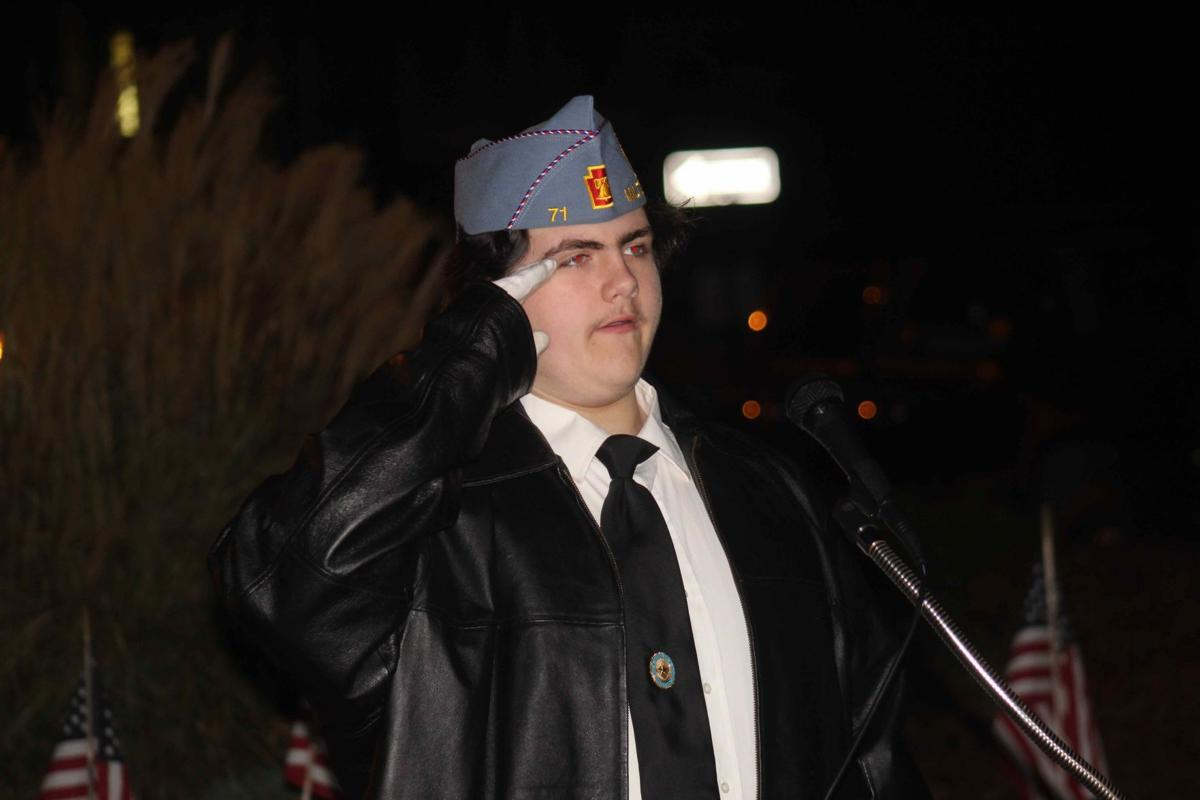 Legion pays homage to veterans