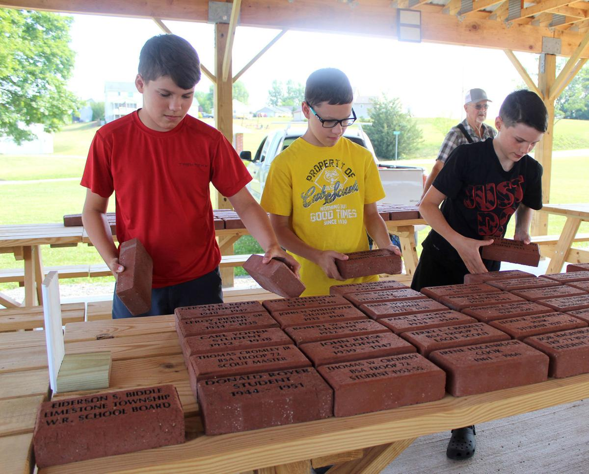 Hundreds of bricks placed in new pavilion