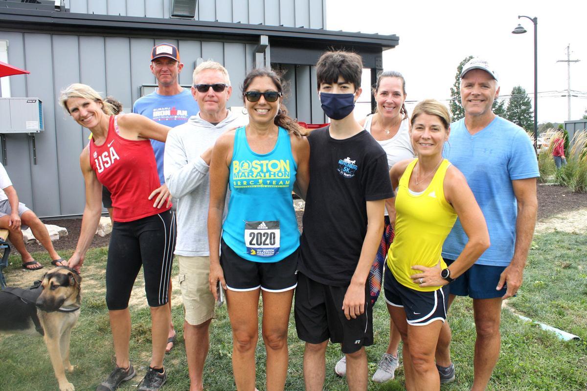 Marathon support team boosted runner's efforts