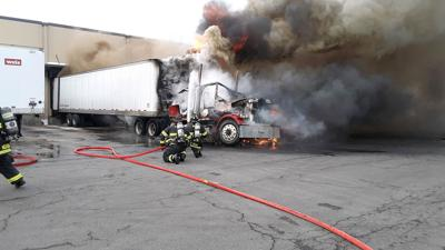 Stored produce not impacted by fire