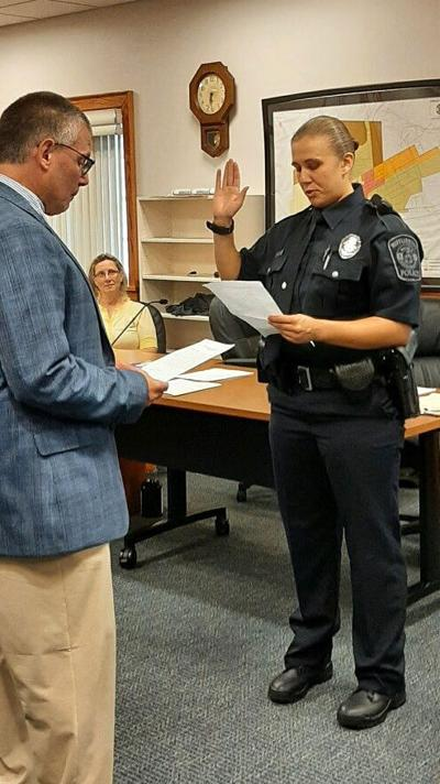Mifflinburg officer sworn in at council meeting
