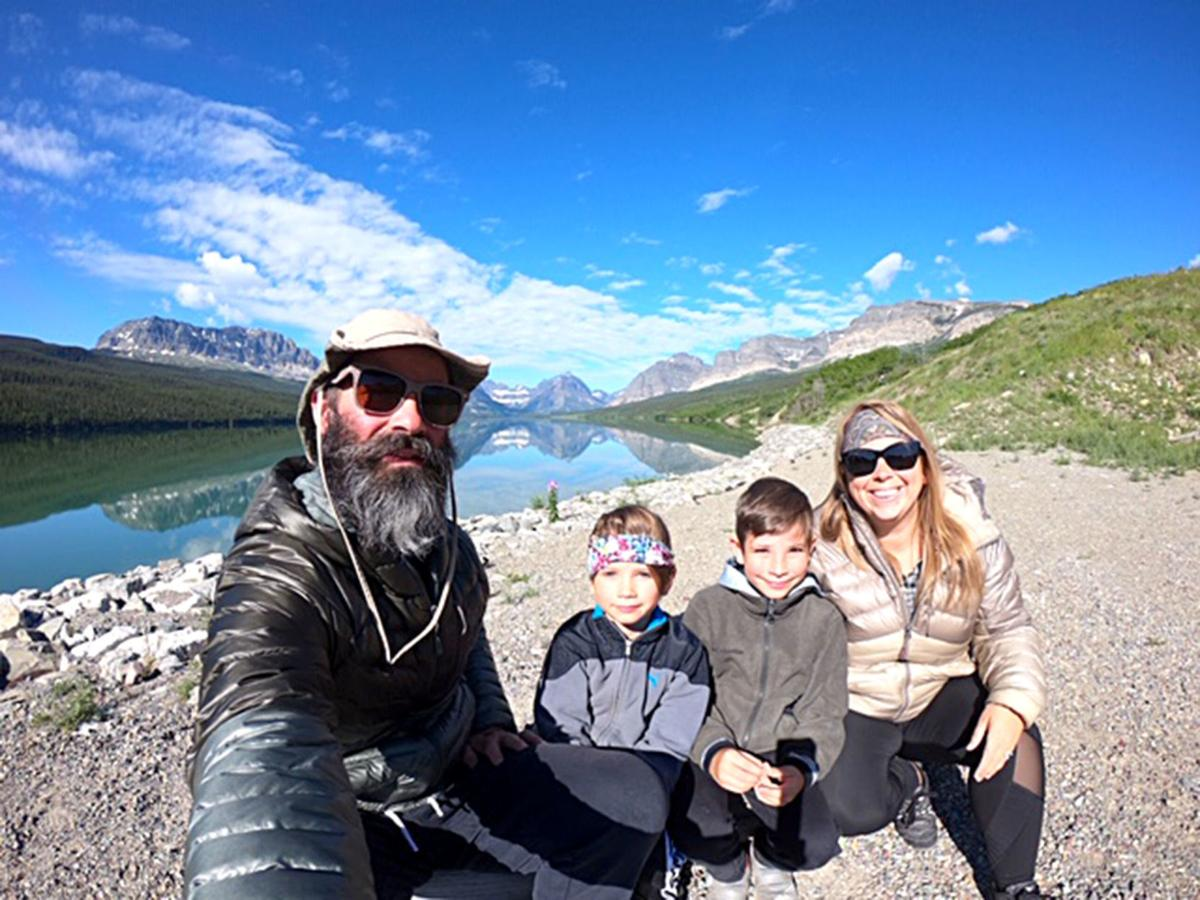 Family visits 18 national parks