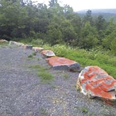 Vandals hit scenic vistas