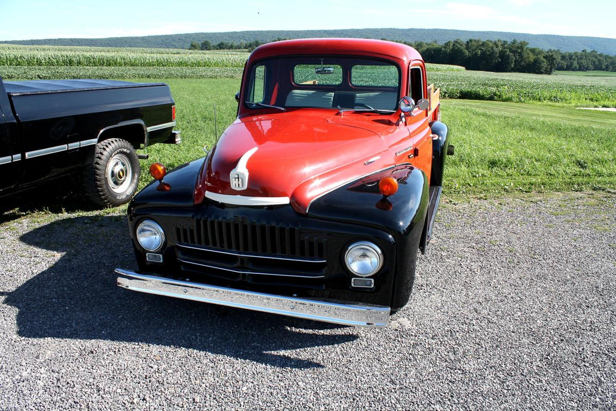 1951 International pickup to be displayed