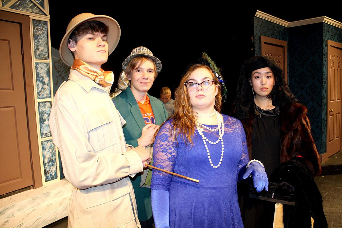Clue On Stage (High School Edition) features ensemble cast