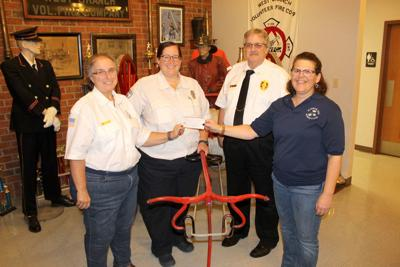 WRAFD receives boost from woman's club