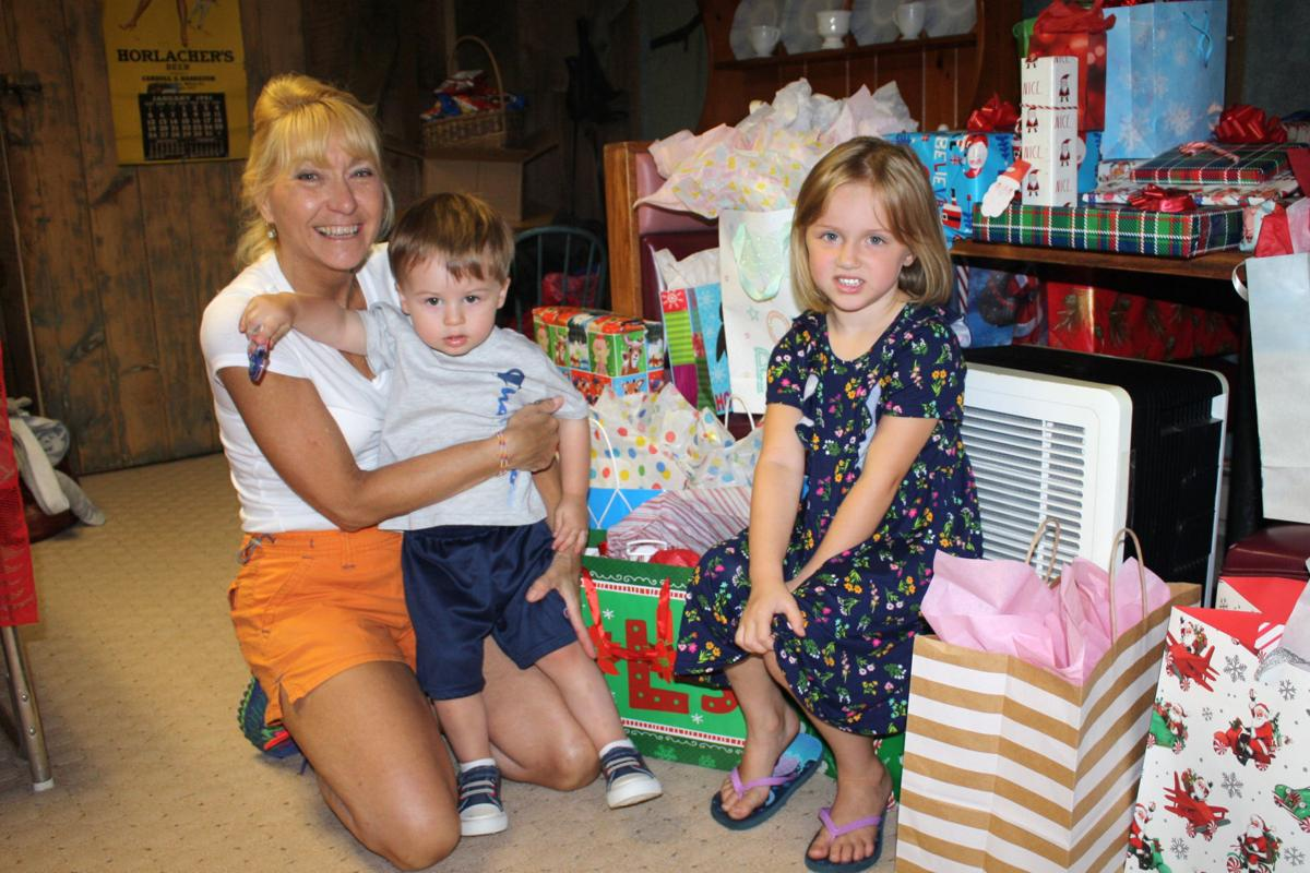 Family celebrates 'Christmas in July'
