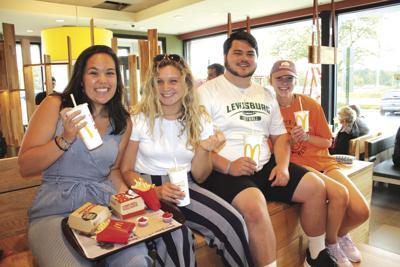 Lewisburg McDonald's to open today
