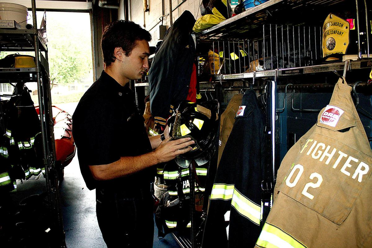 Bucknell senior brought long-time interest in firefighting