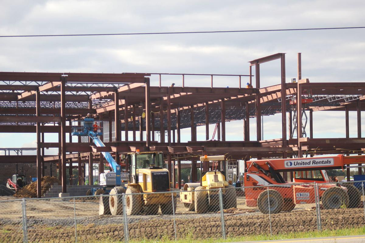 Elementary school construction continues