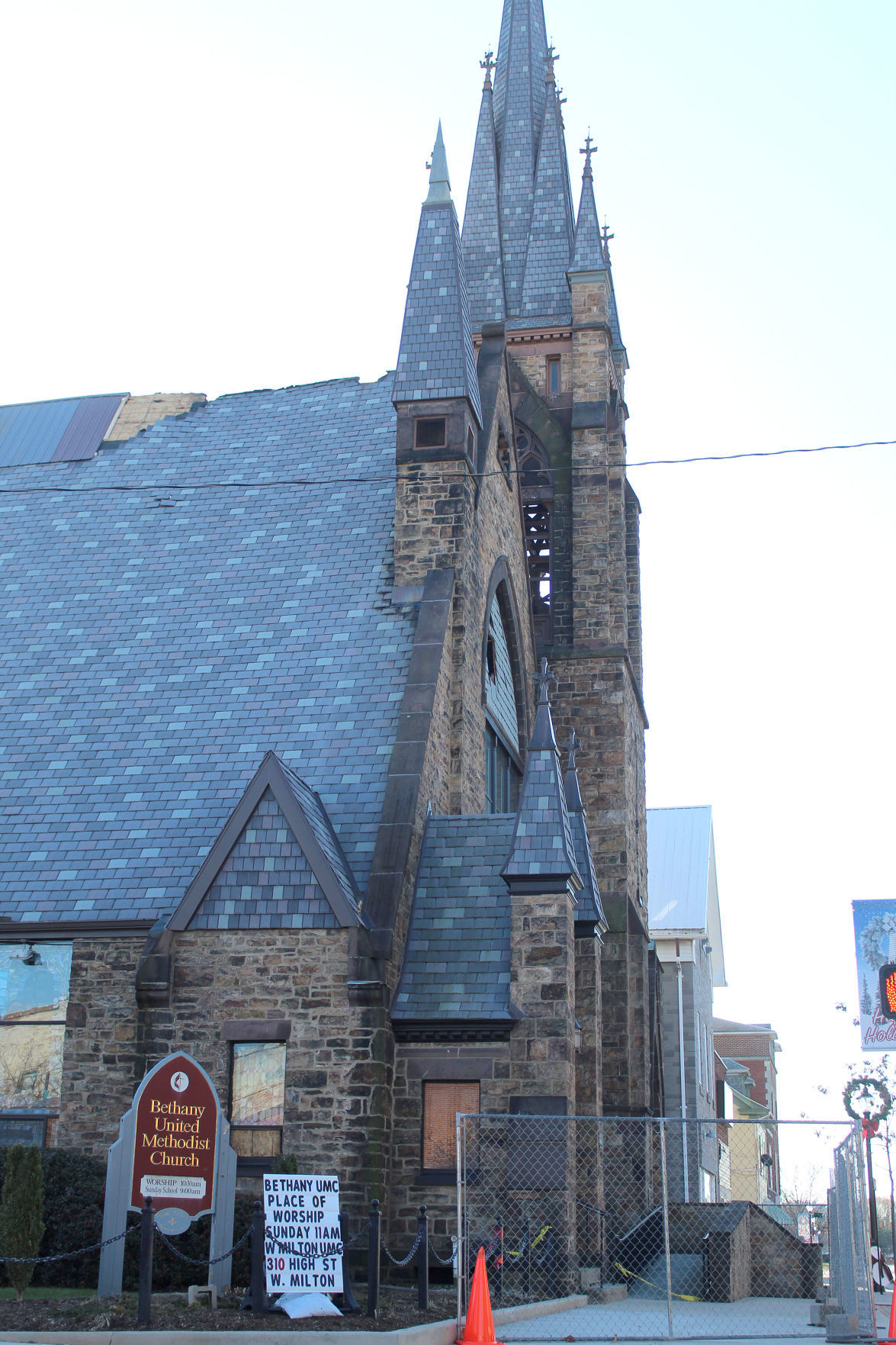 Church fire remains under investigation