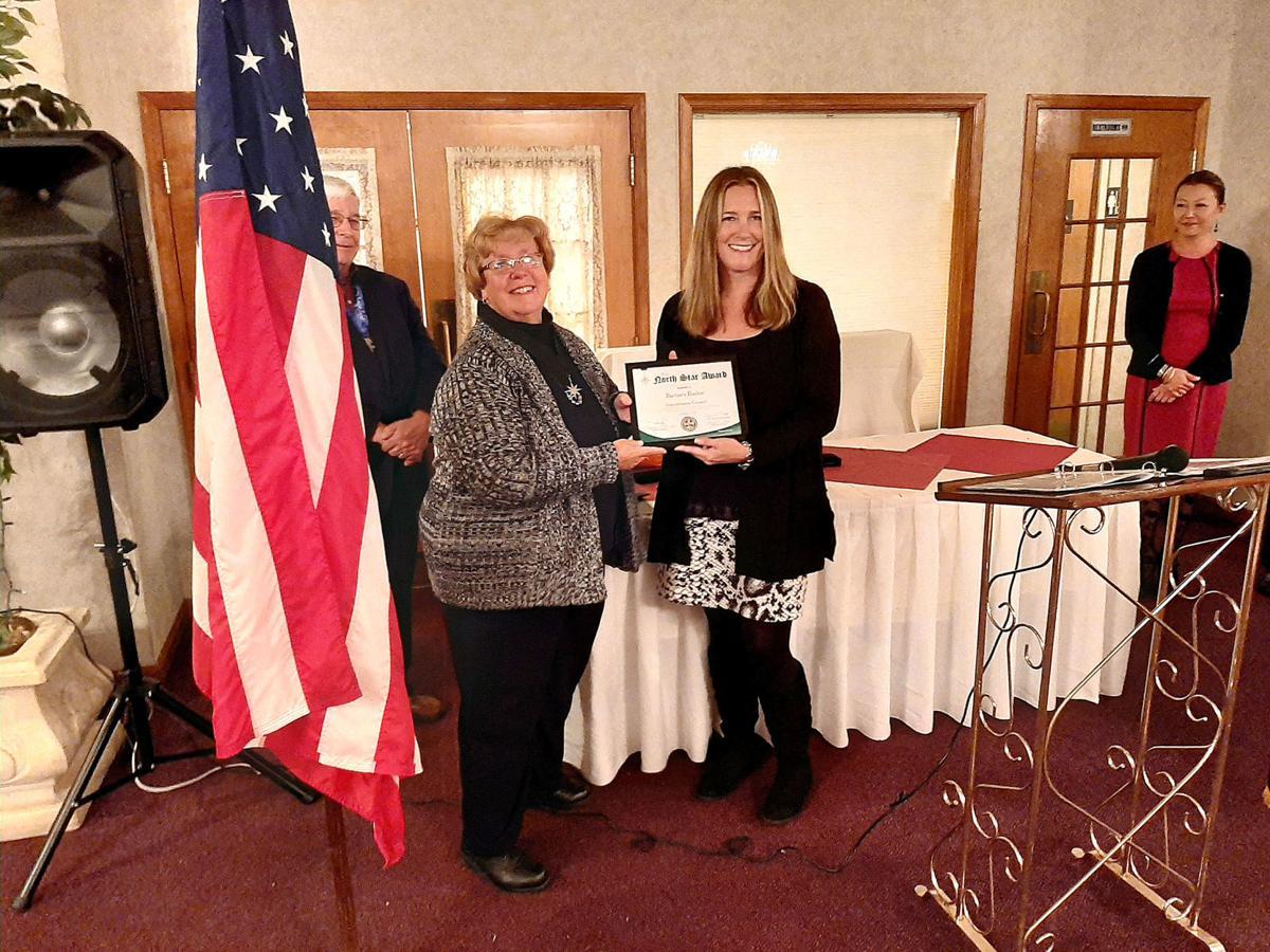 BSA presents North Star to Barbara Baylor