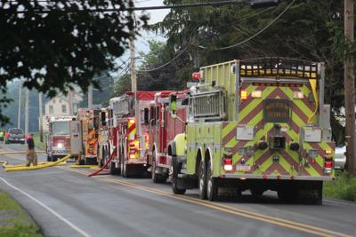 No injuries reported in Union County fire